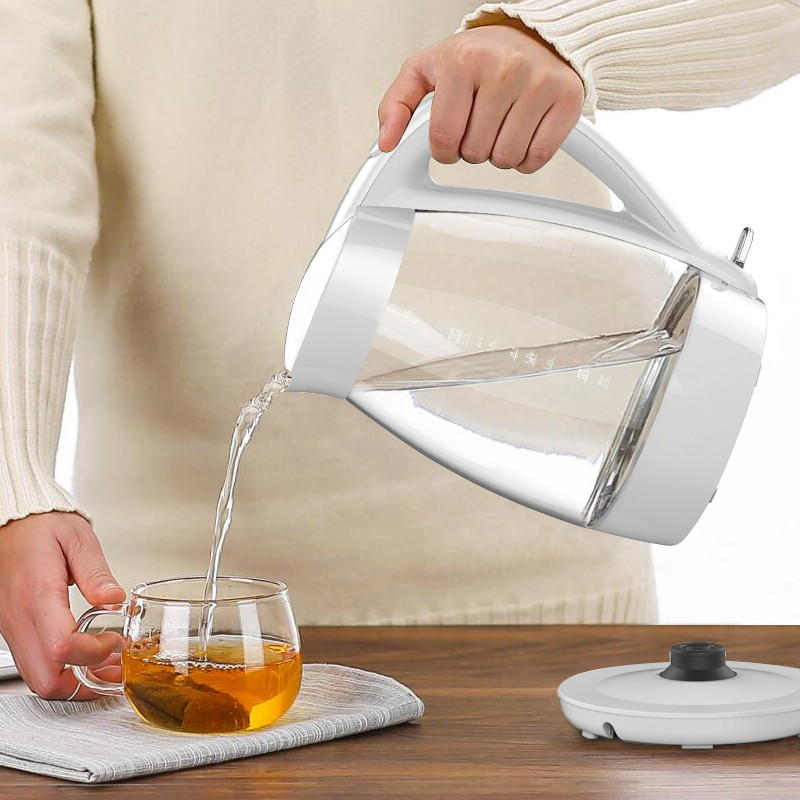Glass electric kettle household 304 stainless steel automatic power outage large capacity Safety Auto-Off Function цена и фото