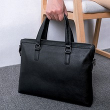 BAQI Brand Men Briefcase Bag Men HandBags Genuine Cow Leather 2019 Fashion Computer Business Bag Men Shoulder bags Messenger Bag цены