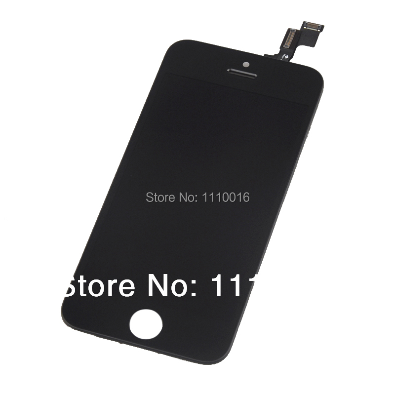 New Arrival! <font><b>Original</b></font> New Black/White <font><b>LCD</b></font> Display Touch Screen Digitizer Full Assembly for <font><b>iPhone</b></font> <font><b>5S</b></font> image