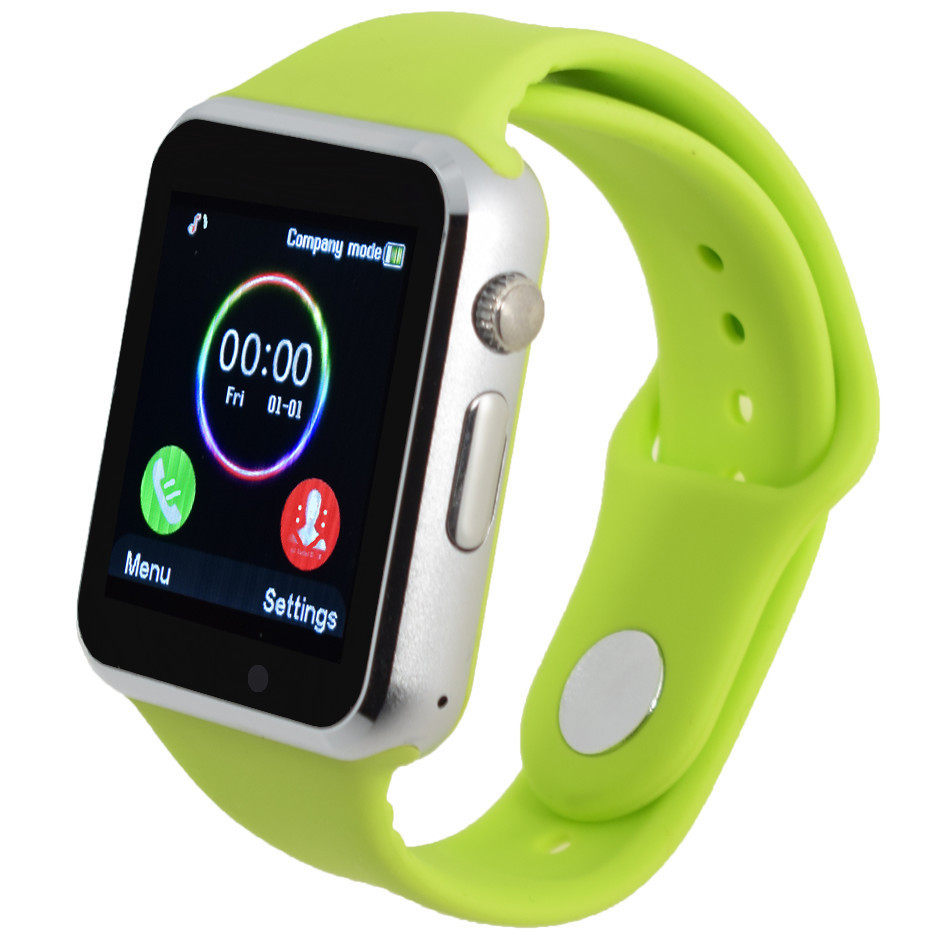 Silicone strap smart watch for android font b phone b font support SIM men women sport