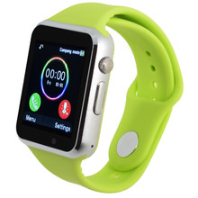 Silicone strap smart watch for android phone support SIM men women sport wristwatch With camera support Pedometer PK GT08 DZ09
