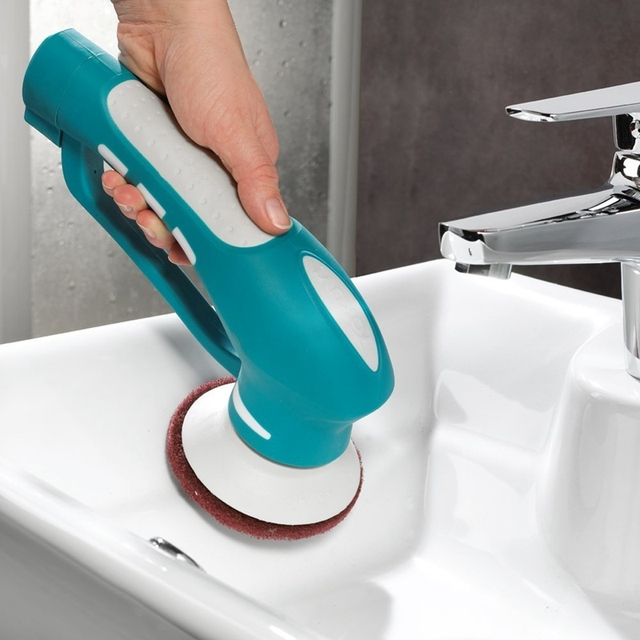 NEWElectric Washing Cleaner Machine For Scrubber Kitchen Bathroom - Bathroom cleaning machine