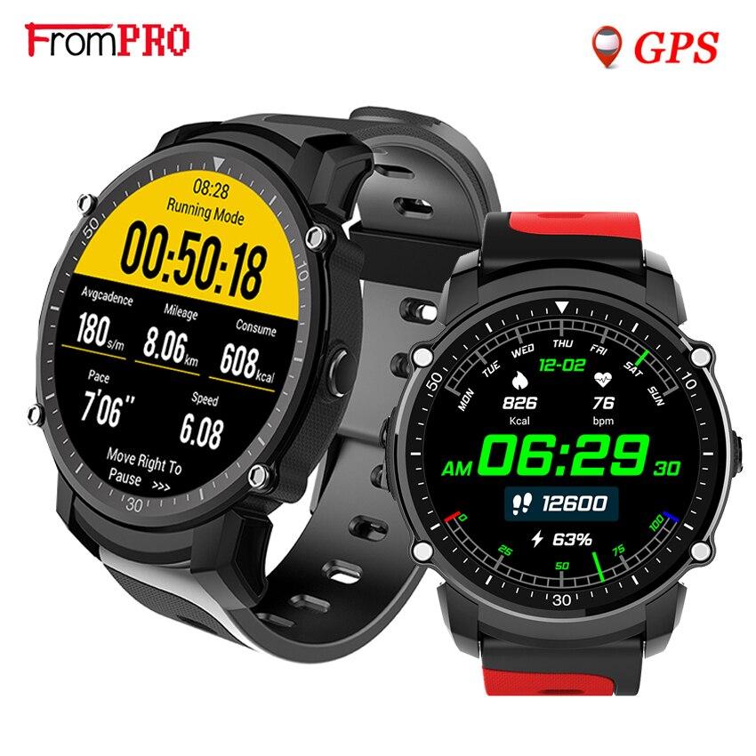 FS08 GPS Smart Watch MTK2503 IP68 Waterproof Bluetooth 4.0 Heart Rate Fitness Tracker Multi-mode Sports Monitoring Smartwatch no 1 f2 ip68 bluetooth smartwatch green
