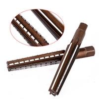 2pcs Straight Shank Hand Reamers Set MT2 Steel Morse Taper Mayitr Precision Milling Finishing Cutter Tool