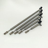 RC Boat Parts Shaft Set 3mm Stainless Steel Shaft Shaft Sleeve Tube 3 Blades Propeller Universal