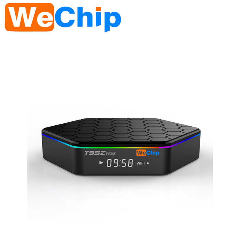 WeChip S912 T95Z Plus Amlogic Cuadro de TV Android Octa core ARM Cortex-A53 2G/1