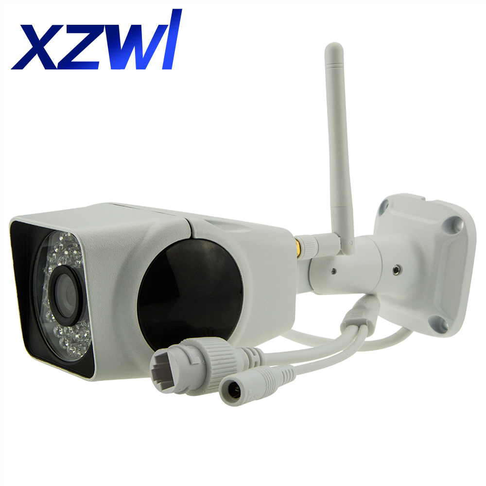 1080p Full HD 2mp IP camera wifi Wireless outdoor IP66 waterproof IR 20M P2P Home security CCTV Network Camera With Card Slot escam qd900 wifi ip camera 2mp full hd 1080p network infrared bullet ip66 onvif outdoor waterproof wireless cctv camera
