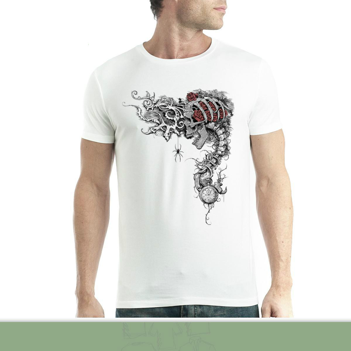 Gardien de Temps Des Roses Homme T-shirt XS-5XL Print T-Shirt Summer Casual top tee High Quality Personality