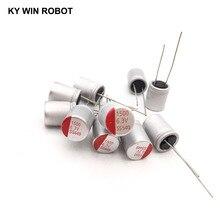 6.3V1500UF 10*13 DIP stałe kondensator elektrolityczny 1500UF 6.3V 10X13mm stałe Sate kondensator wysokiej jakości