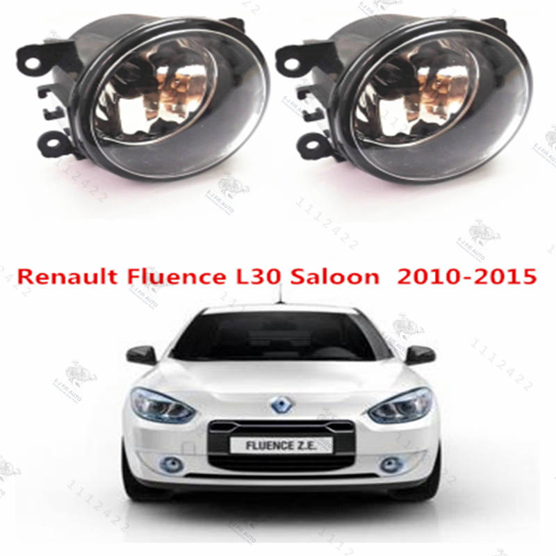 For RENAULT FLUENCE L30  2010-2015  Front Fog Lamps Fog Lights Halogen Car Styling  1 SET  35500-63J02  8200074008
