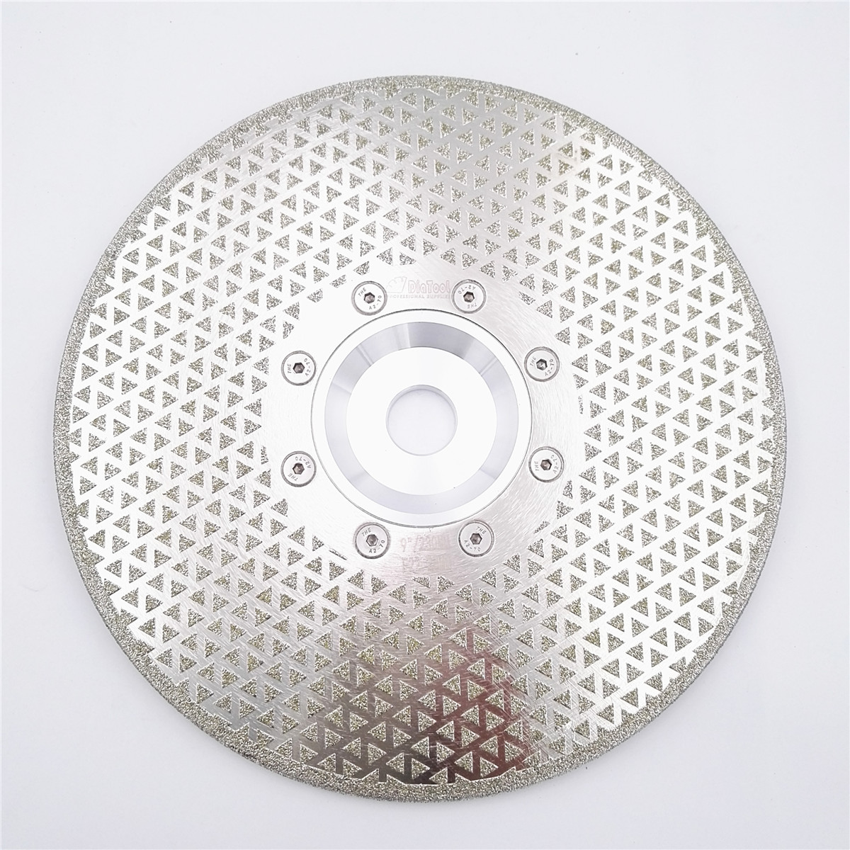 цена на DIATOOL 9/230mm electroplated diamond cutting and grinding discs for granite & marble with 22.23mm flange