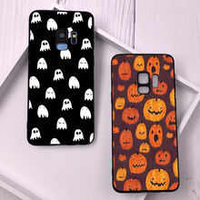 For Samsung Galaxy S9 S9 Plus Case for S10e Halloween Texture Cases for Samsung Galaxy S7 S7 Edge S8 Plus S8 S9 S10 Plus Cover все цены
