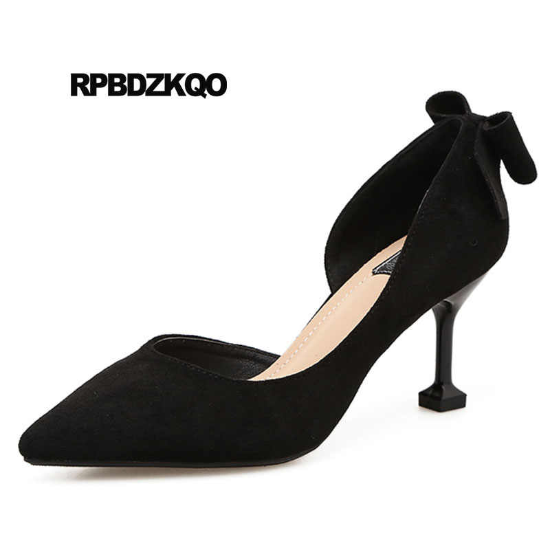 68c2b85f806 Detail Feedback Questions about Navy Blue Pumps Office Cheap D'orsay ...