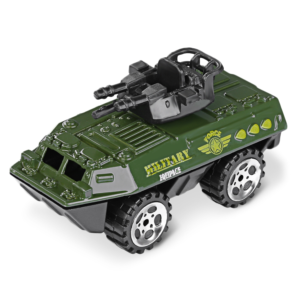 6pcs Mini Alloy Vehicle Die-cast Model Car 1:64 Scale Figurines Indoor Outdoor Playing Games Fun Toys for Children Kids Gifts