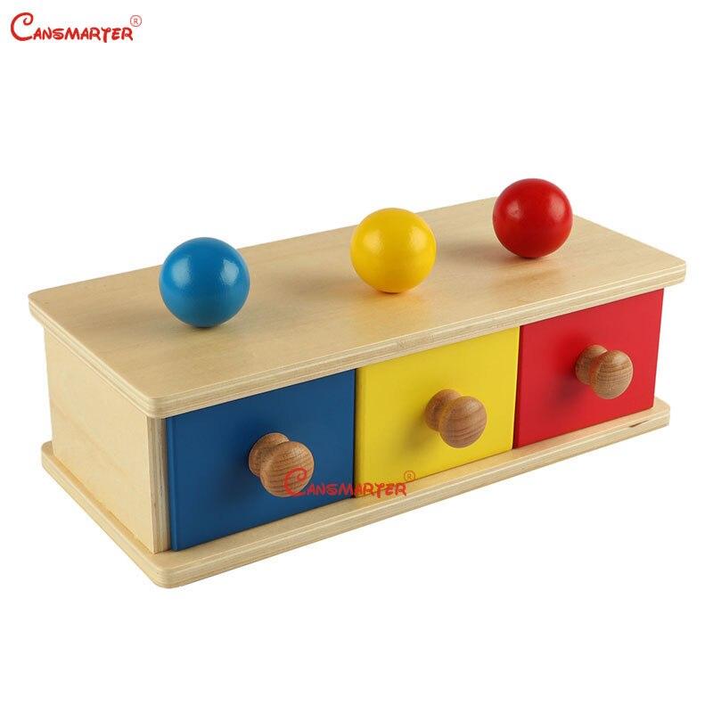 Montessori jeux bébé jouets pour enfants éducatifs en bois jouets boîte produits en bois enfants sensoriels jouets nourrissons boîtes - 2