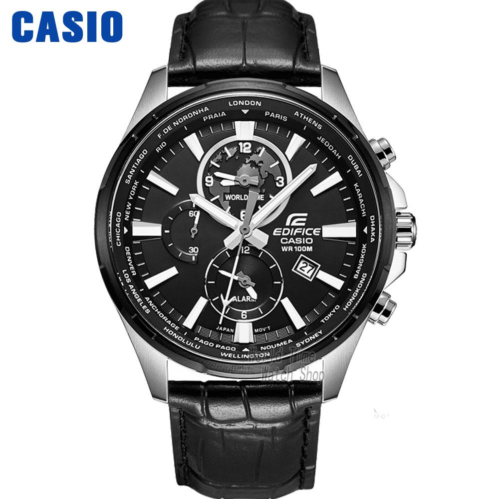 Casio watches CASIO men waterproof fashion leisure business quartz watch EFR-304BL-1A EFR-304D-1A EFR-304L-7A EFR-304SG-7A casio sheen multi hand shn 3013d 7a