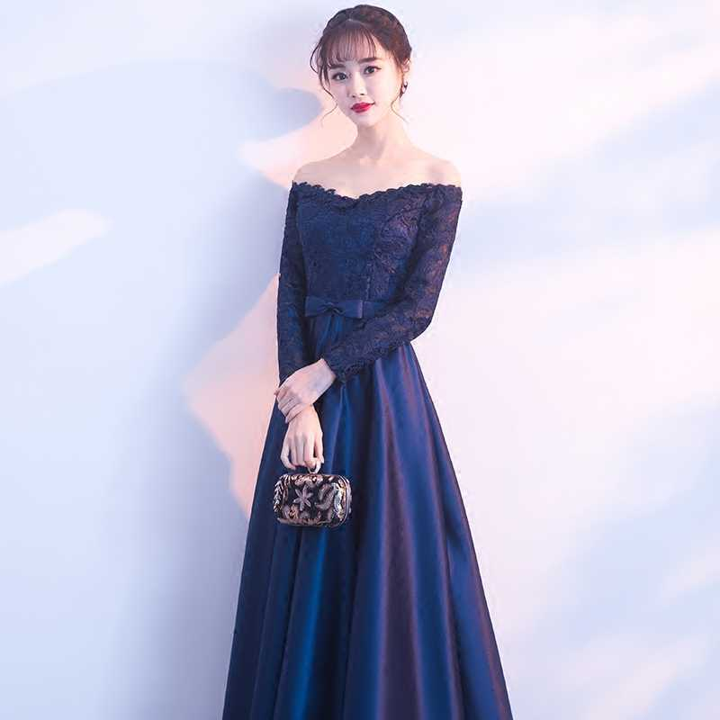 Detail Feedback Questions About Elegant Long Sleeve Prom Dresses