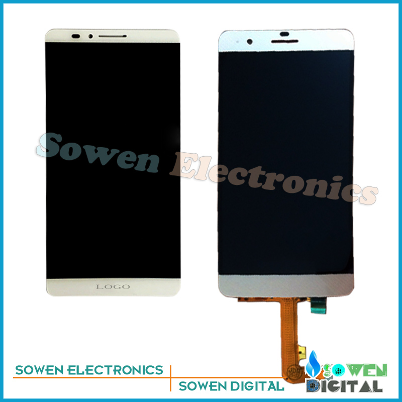 ФОТО for Huawei Honor 6 plus 6P LCD display Screen with Touch Screen digitizer assembly full sets , black white golden. Best quality