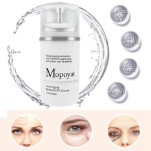2019 Hyaluronic Acid Organic Retinol Moisturizer Face Cream Anti-aging Face Eye Vitamin E and Green Tea Face Whitening Cream