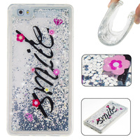 Love Heart Stars Glitter Stars Dynamic Liquid Quicksand Painting Soft TPU Phone Back Cover Case For