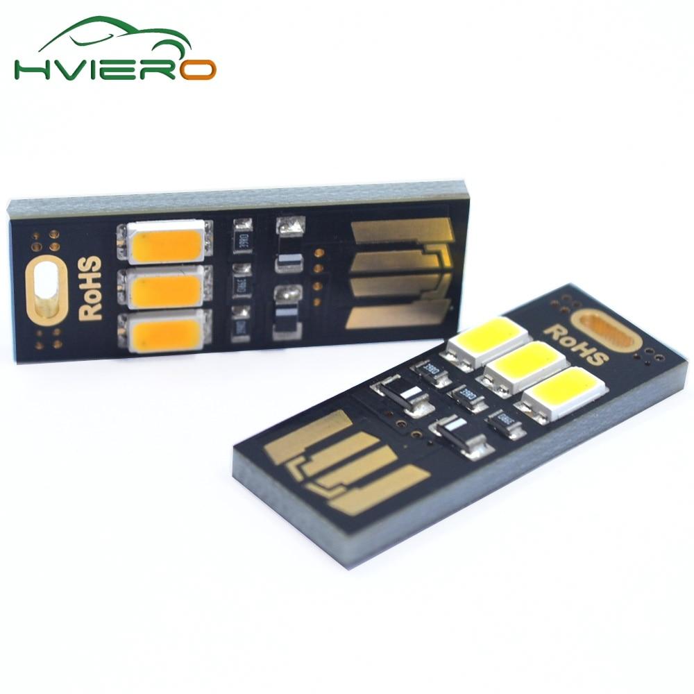 5pcs prenosni mini napajalnik 3LED nočna namizna svetilka 1W 5V - Nočne svetilke - Fotografija 3