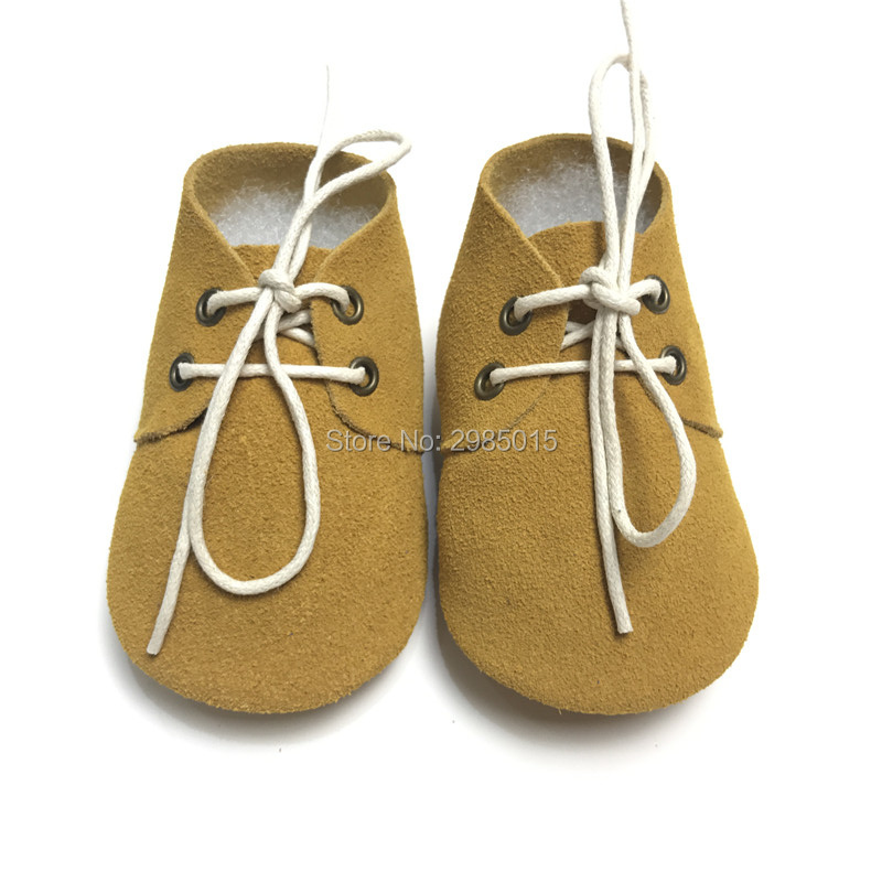 High Quality Metallic Leopard Genuine Leather Baby Oxford Shoes Baby Moccasins Toddler Lace up Baby Shoes First Walker