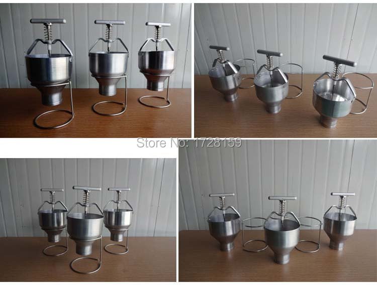 Free shipping Hand operate Stainless steel doughnut making machine;Cake Donut Cutter Maker цены
