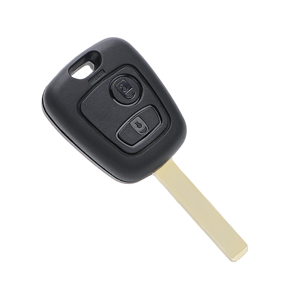 Remote Blank Car Key Case For Citroen Peugeot Xsara Picasso Car-styling 2 Button Car Key Shell Cover Auto Replacement Parts