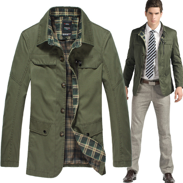 Green Mens Jacket | Outdoor Jacket
