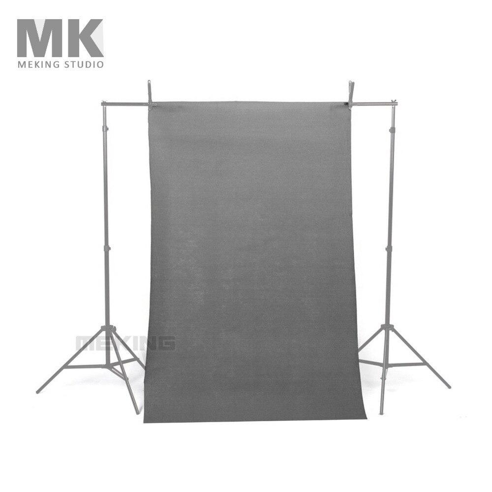 bilder für NEUE 10 * 20ft/3*6 Mt Solide Grau Nahtlose Muslin Fotografie Hintergrund tuch fotostudio zubehör