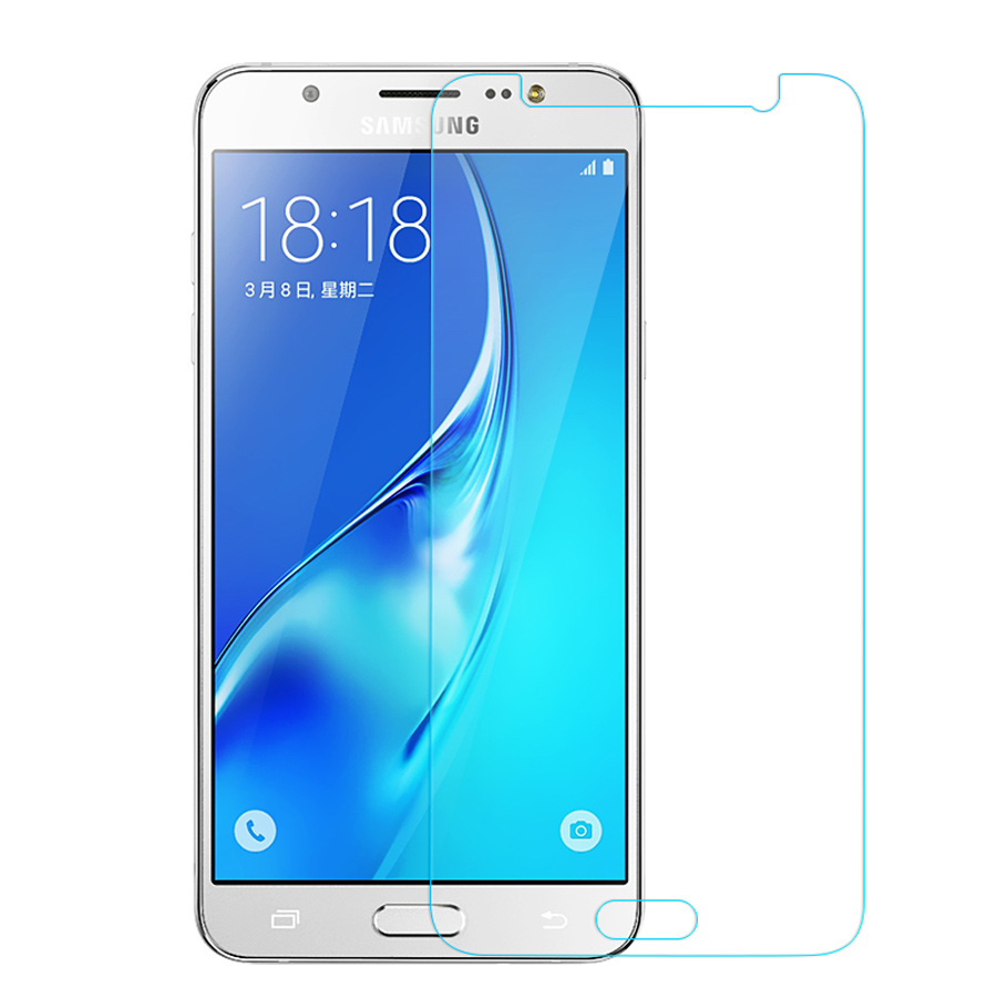 2.5D Tempered Glass For Samsung Galaxy J3 J5 J7 2016 2015 Screen Protector Glass J300 J500 J700 J310 J510 J710 Protective Film