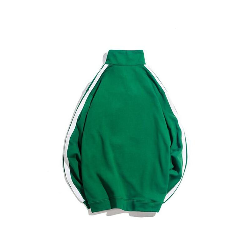 Neutre De Américain Rétro Polo green Pull Jvzkass Marée gray Femelle Black 2018 Z230 Automne Nouveau Femmes Étudiant Lâche qwHXURt4