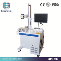Easy Operation New Model Competitive Fiber Laser Marking Machine For Metal