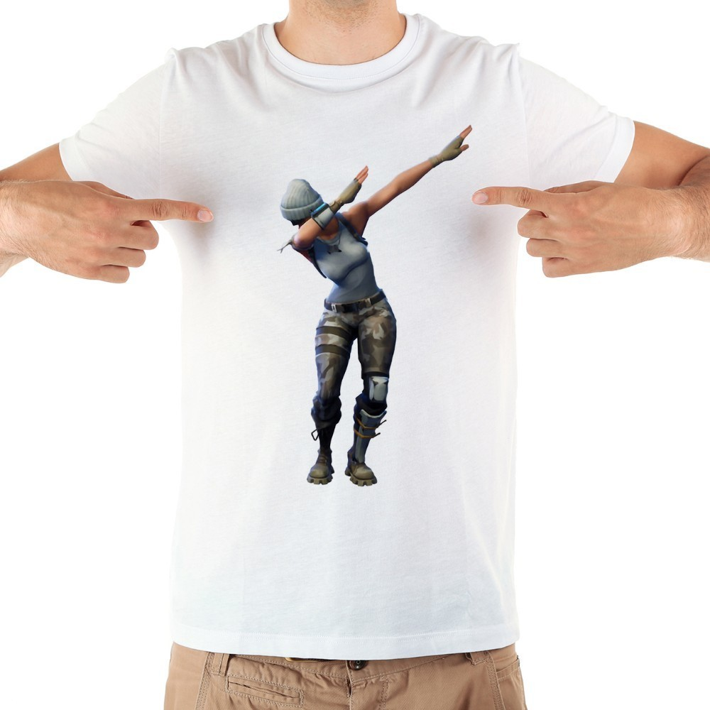 Tamponando guerriero divertente maglietta degli uomini di estate nuovo bianco casual manica corta o-collo t shirt homme senza colla di stampa