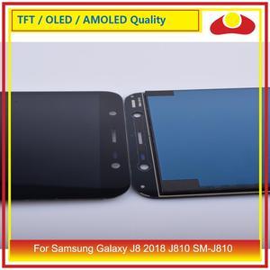 "Image 5 - ORIJINAL 6.0 ""Samsung Galaxy J8 2018 J810 SM J810 lcd ekran Ile dokunmatik ekran digitizer Paneli Pantalla Komple"