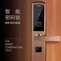 Пароль проведите сенсор умный дом дистанционного временный ключ приложение Крытый безопасности дверь слайд отпечатков пальцев замок