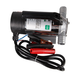 Image 2 - 50L/分 AC DC 電気自動燃料移送ポンプオイル/ディーゼル/灯油/水小自動給油ポンプ