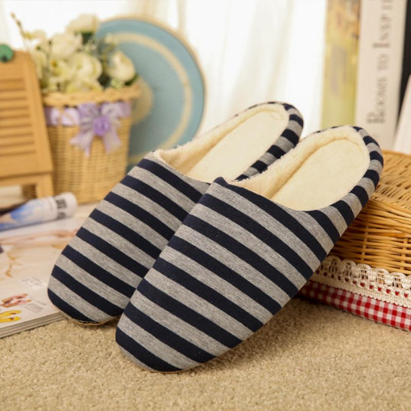 Новый год мужская обувь потепление мягкие тапочки для зима бархат &амп коралловый; ТПР тапочки