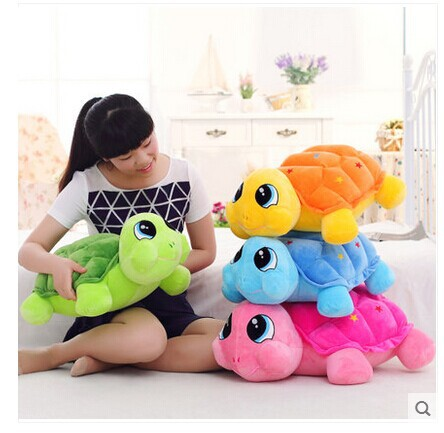 large 55cm colourful turtle plush toy tortoise doll throw pillow ,toy gift t8859 1pcs 10 25cm small size turtle plush tortoise toy cute turtle plush pillow stuffed toy cushion for girls vanlentine s day gift