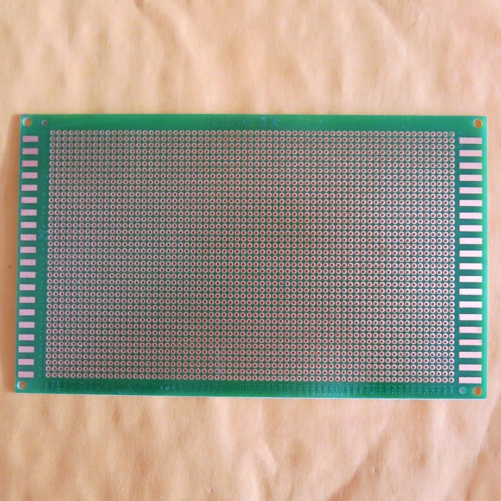 100pcs M3 Scb63 Threaded Nylon Plastic Spacers Standoff Circuit Board Support Pcb Holder 5 Pcs Lot Pitch 20mm 9x15cm Stripboard Single Side Fr4 Fibreglass