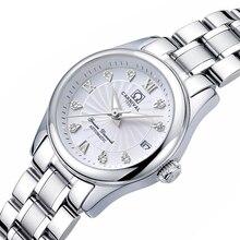 Carnaval feminino relógios de luxo da marca senhoras relógio mecânico automático feminino safira à prova dwaterproof água relogio feminino C 8830 4
