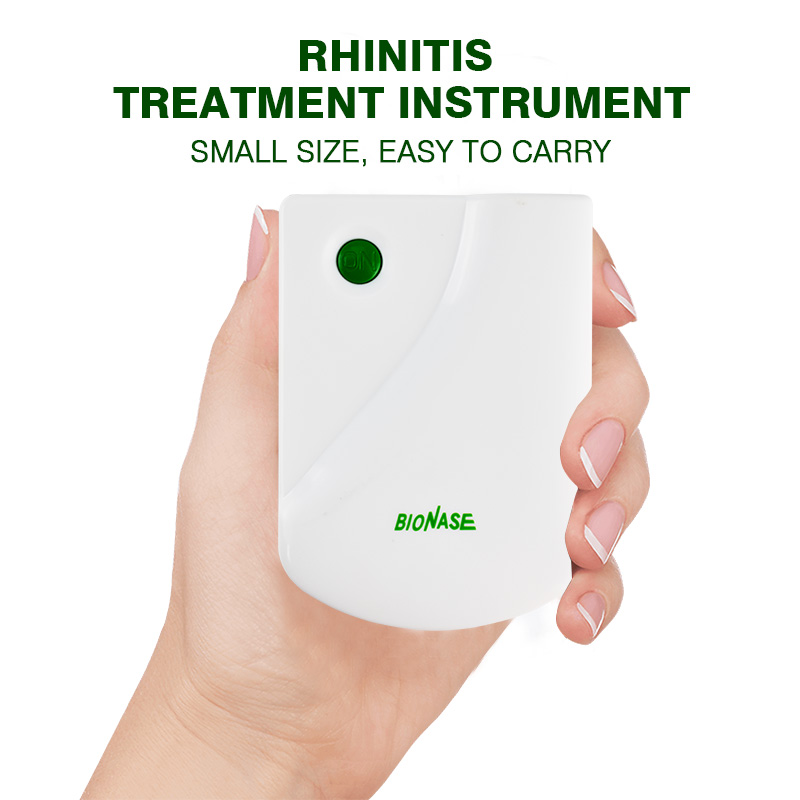 Rhinitis Sinusitis Painless Cure Pulse Laser Hay fever Low Frequency Massage Therapeutic Instrument  Health Care Device low frequency laser pulse rhinitis treatment anti snore apparatus sinusitis nose therapy massage health care allergy reliever