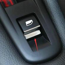 BJMYCYY стайлинга автомобилей 7 шт./компл. ABS стеклоподъемник кнопки украсить блестками для peugeot 508 Citroen C5 аксессуары
