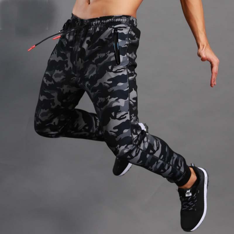 2017 hombres Boutique otoño lápiz Harem pantalones hombres camuflaje militar pantalones holgados cómodos Cargo Camo Joggers