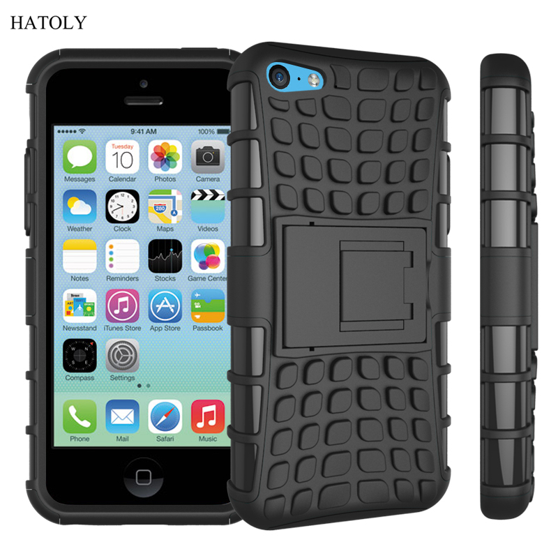 For iPhone 5s Case Heavy Duty Armor Shockproof Hard Soft Silicone Phone Case For iPhone SE