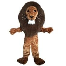 Lion king  mascot costumes cosplay Real photo Free Shipping Long hair Langteng (TM)