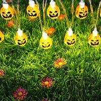 Feimefeiyou Usb Power Little Pumpkin Style Led Fairy String Light For Halloween Christmas Party Outdoor Decorations