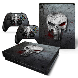 For XBOX ONE X console sticker and 2 controllers sticker for XBOX ONE X vinyl sticker for xbox one X skin sticker---0889(China)