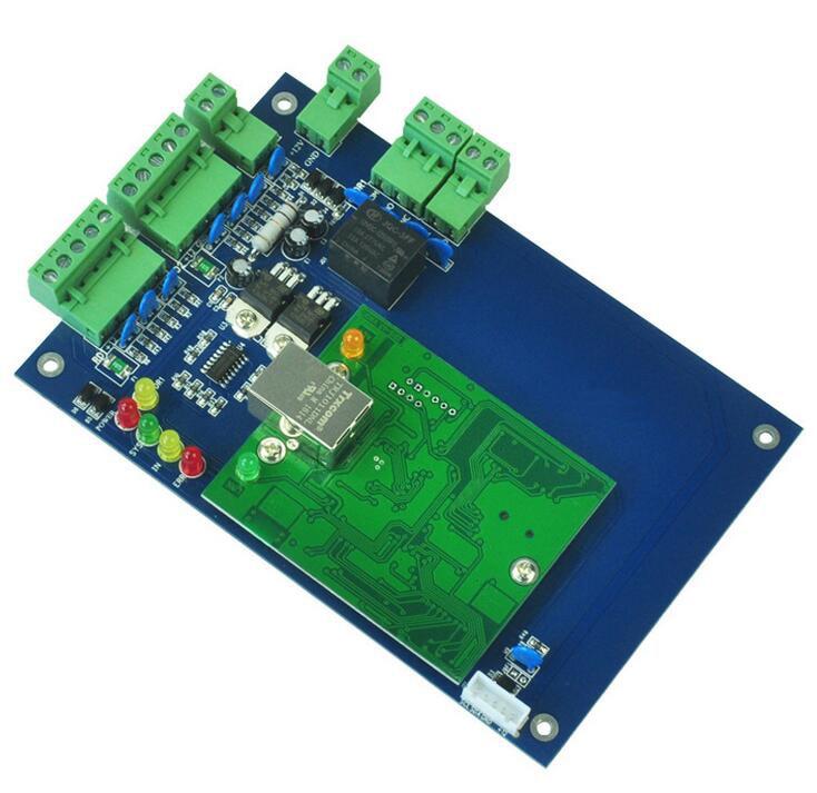 TCP/IP Singer Door access control Door Security System Network one Door Wiegand Tcp/ip Access Control Board ,sn:L01