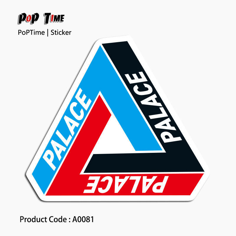 a0081-palace-doughnut-stickers-for-laptop-luggage-car-bicycle-motorcycle-skateboard-phone-home-decor-decal-graffiti-waterproof